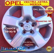 """OPEL per MERIVA ASTRA VECTRA - DUE (2) COPRICERCHI BORCHIE 5915/4 DIAMETRO 16"""""""