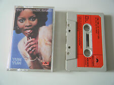 THE FATBACK BAND YUM YUM CASSETTE TAPE 1975 RED PAPER LABEL POLYDOR UK