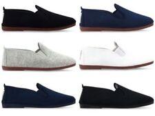 Zapatos informales de hombre náuticos de lona