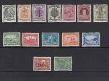 NEWFOUNDLAND-1933 Sir Humphrey Gilbert set.  A mounted mint set Sg 236-249