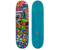 "Supreme Molotov Kid Skateboard Teal 8.5"" x 32.25"" NEW 100% Authentic"