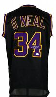Shaquille O'Neal Lakers Autograph Signed Custom Jersey JSA Witnessed COA