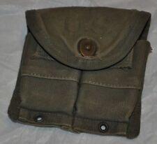 WWII 1945 George S. Rumley Co M1 Carbine magazine belt pouch