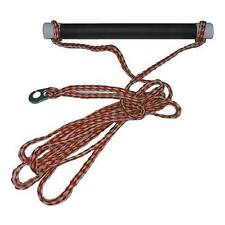 Ski Rope Single Handle with Sister Clip - Red/White