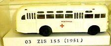 03 ZIS 155 Bus de 1951 La Croix-Rouge H0 1:87 å √
