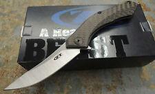 Zero Tolerance Messer ZT-0460 Sinkevich S35VN Stahl Kohlefasergriff Kugellager