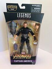 Marvel Legends Series Avengers Infinity War Thanos BAF CAPTAIN AMERICA New