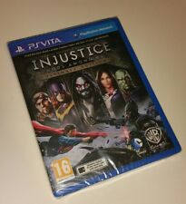 Injustice Gods Among Us Ultimate Ed PS Vita New Sealed UK PAL PlayStation PSV