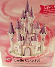 Wilton Romantic Castle Cake Set 32 Pieces 2007 New in Box Decorator Princess