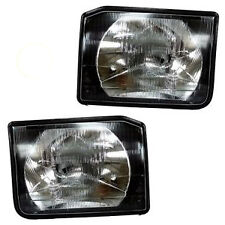 LAND ROVER DISCOVERY 2 PAIR OF FRONT HEADLIGHTS LAMPS  XBC105120 AND XBC105130