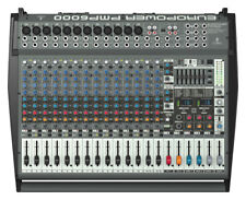 Behringer EuroPower PMP6000 20-Channel Powered Mixer New