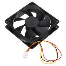 3 Pin 90mm 25mm Cooler Fan Heatsink Cooling Radiator For Computer PC CPU 12 B7R1