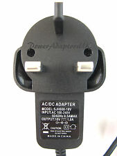 800MA/0.8A 18V AC/DC MAINS UK SWITCH MODE POWER ADAPTOR/SUPPLY/PSU/CHARGER