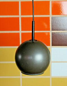 60er Vintage Staff Ceiling Light Ball Pendant Lamp 70er 1/3