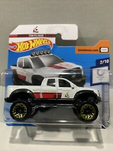 Hot Wheels Tokyo 2020 White 10 Toyota Tundra SEALED UNOPENED HTF RARE SHORT CARD