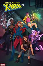 Uncanny X-Men 1 Marvel 1:50 Jen Bartel Variant (11/14/2018) X-23 Psylocke Storm