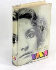 Viva First Edition 1970 Superstar Andy Warhol Factory Film Star Novel HC w/DJ