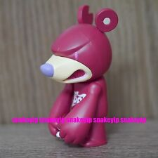 "Toy2R x Touma Toumart Knuckle Bear Chapter 1 Guardian Red 2.5""Qee Key Chain"