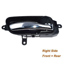New Black & Chrome Right Inside Door Handle For Nissan Altima Murano 806703TA0D