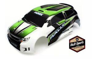 Traxxas 7513 Body, LaTrax® 1/18 Rally, green (painted) / decals New