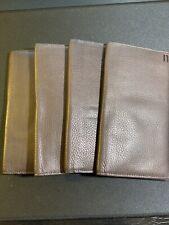 Hartmann Expresso Leather Checkbook Wallet