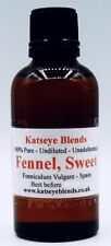 Fennel Sweet Essential Oil x 100ml Therapeutic Grade 100% Pure