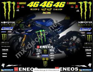 Yamaha Moto gp 2019 Rossi