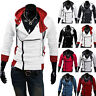 Slim Jacket Costume Costume Stylish Creed Hoodie men's Cosplay Assassins Cool