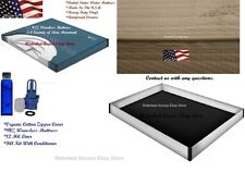 Queen Size 60x84 95% MOTIONLESS WATERBED MATTRESS w/COVER
