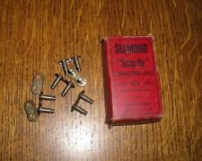 "Vintage NOS 1"" Pitch Balloon Bicycle Diamond Chain Repair Roller Link"