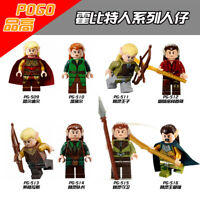 Baukästen Figur DIY The Hobbit The Lord of the Rings Fate Théoden Gandalf Merlin