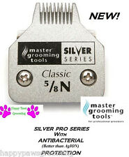 """Master Grooming Tools SILVER 5/8 w n""""Toe Feet""""BLADE*Fit Many Andis,Wahl Clipper"""