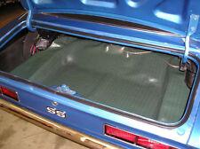 67 68 69 Camaro Aqua Herringbone Spare Tire Trunk Mat READY TO SHIP NEW