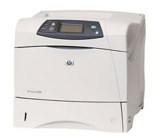 HP LaserJet 4200N Laser Printer Low Pages Count -REFURBISHED- 60 Day Warranty