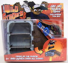 JAY JAY SKATE SPOT Rob Dyrdek's Wild Grinders Old Fridge Fun Box 2010