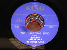 James Brown R&B SOUL 45 Christmas Song Version 1 / Version 2
