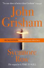 Sycamore Row (Trunk Edition),Grisham, John,New Book mon0000030432