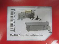 Herpa 053396  Zubehör Schneepflug und Streuaufbau kommunal 1:87  H0 NEU in OVP