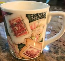 Royal Doulton Expressions Stamps Collector Coffee MugFine China By Jane James