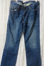 """A & F ABERCROMBIE & FITCH JEANS 5 Pocket Heavy Ounce 836154 32 x 33.5"""""""