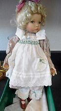 "Knowles Mother Goose Collection Dianna Effner's Mary Mary Quite Contrary 15""Doll"