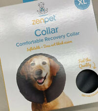 ZenPet ZenCollar Inflatable Recovery Collar  XLarge. Gray. New In box