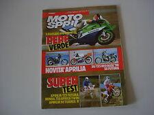 MOTOSPRINT 7/1990 KAWASAKI ZXR 400 H1/APRILIA RED ROSE 50 125/AF1 AF 1 FUTURA