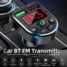 Bluetooth FM Transmitter Auto MP3 Player USB KFZ SD AUX Freisprechanlage NEU DE