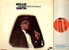 WILLIE THE LION SMITH pork and beans LP EX+/VG+ 2460 156 A1/B2 uk polydor 1972