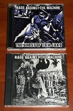 RAGE AGAINST THE MACHINE 2x *PROMO* CD Lot GHOST OF TOM JOAD & BULLS ON PARADE