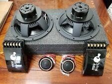 New listing Critical Mass 2way 6.5'' Component Speaker Best Focal Audio Jl Be Morel Made Usa