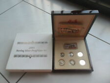 2003 Singapore 5¢-$5 Silver Proof Coin Set