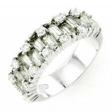 Sterling Silver Ring Cubic Zirconia Size 7