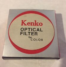 Kenko 52mm ND2 UV Optical Filter Lens, original box & case w/ instructions